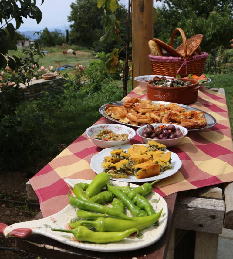 culinary lessons greece pelion