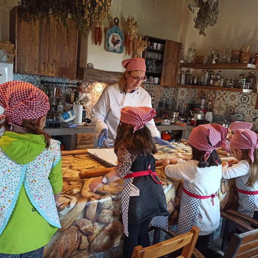 birthday party cookies cooking lessons for kids karaiskos farm portaria pelion greece