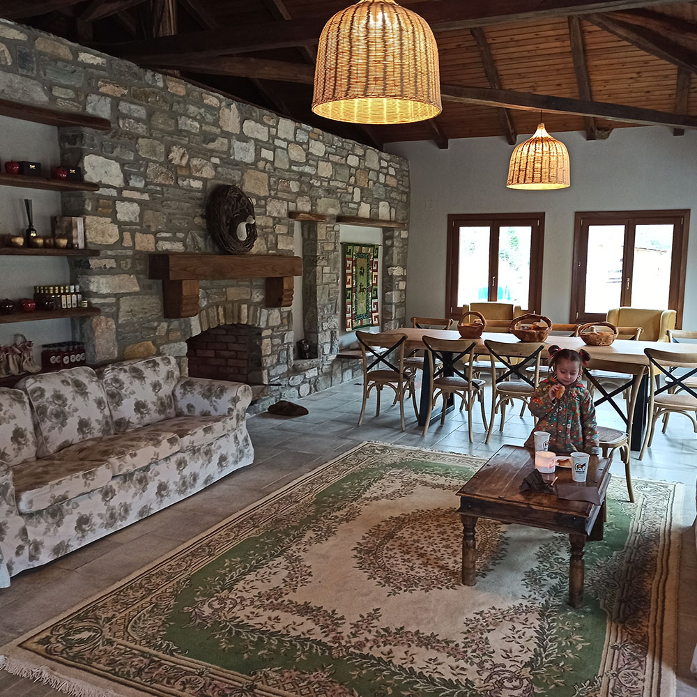 winter party karaiskos farm birthday party for kids portaria pelion greece